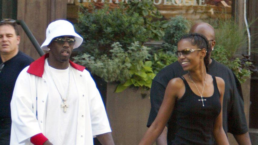 P. Diddy und Kim Porter, 2003