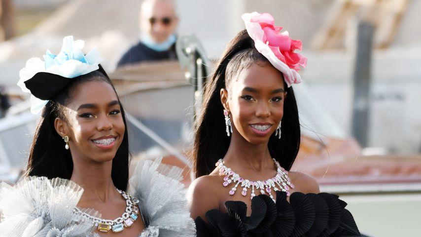 P. Diddys Töchter D'Lila und Jessie James in Venedig