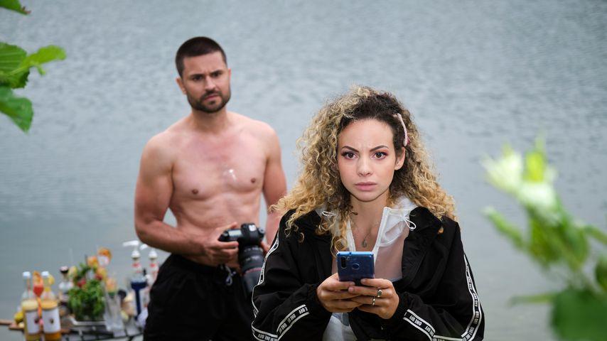 """Paco (Miloš Vuković) und Nika (Isabelle Geiss) bei """"Unter uns"""""""