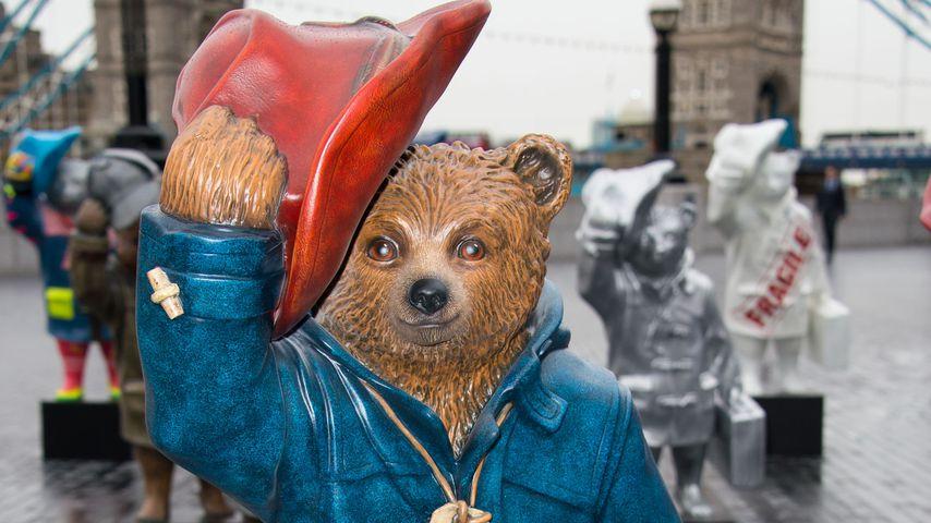 Paddington-Bär-Statue in London