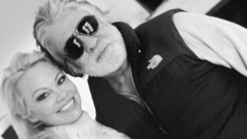 Pamela Anderson und Jon Peters