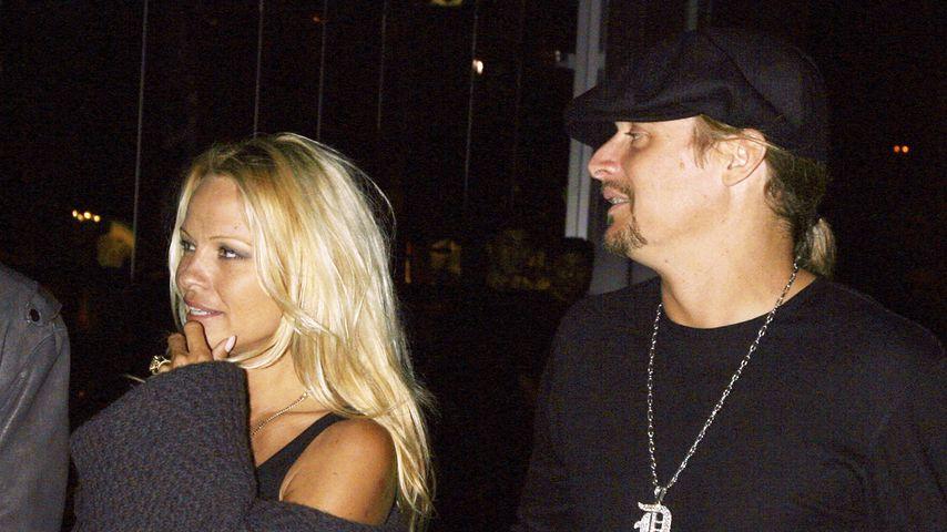 Pamela Anderson und Kid Rock im Oktober 2006