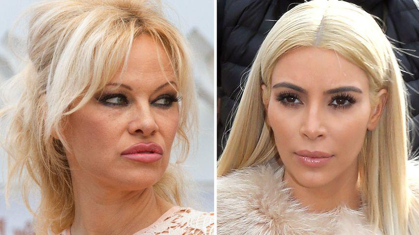 Fell-Beef: Pamela Anderson schießt gegen Kim Kardashian!