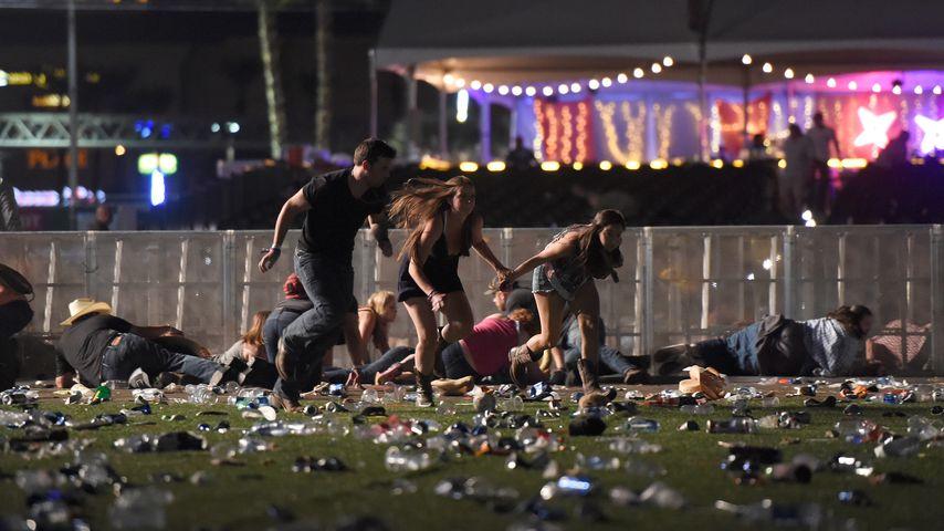 Panik auf dem Route 91 Festival in Las Vegas