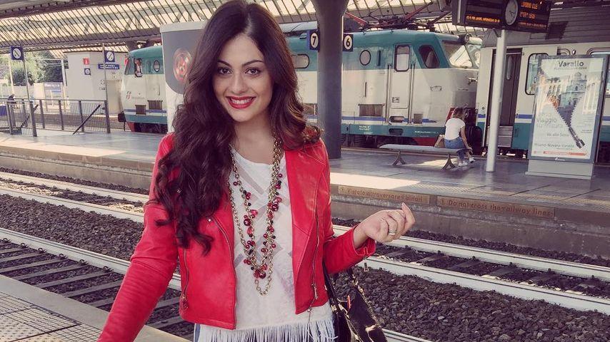 Das italienische Model Paola Torrente