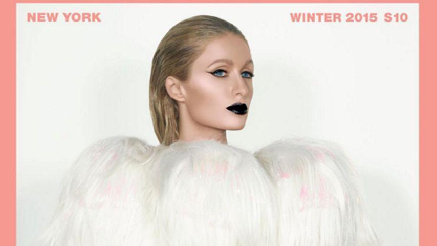"""Rockig & freizügig: Paris Hilton POsiert für """"Paper"""""""
