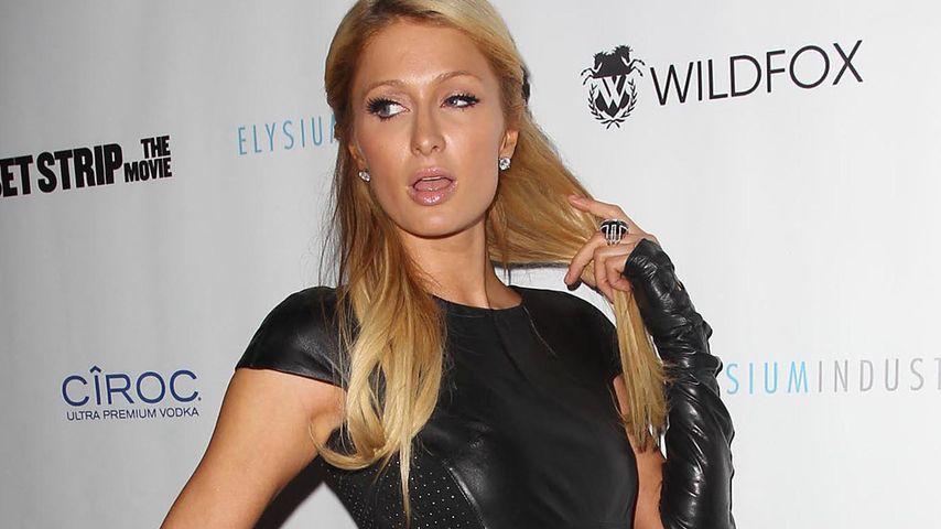Verruchter Leder-Look! Paris Hilton traut sich was