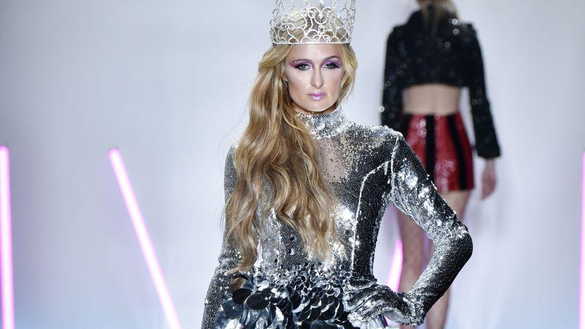 Paris Hilton bei der Christian-Cowan-Modenschau auf der New York Fashion Week 2017