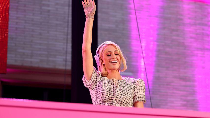 Paris Hilton bei der Al Fresco-Night in Kalifornien, September 2021