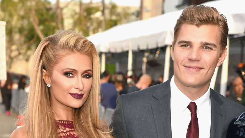 Paris Hilton und Chris Zylka bei einer Premiere in Hollywood