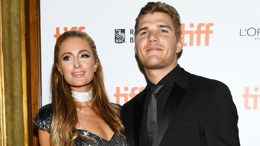 Paris Hilton und Chris Zylka bei einem Filmfestival