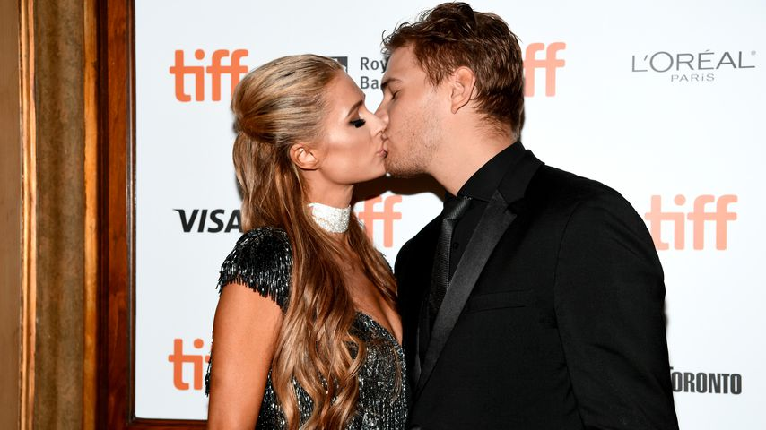 Paris Hilton und Chris Zylka beim Toronto International Film Festival 2018