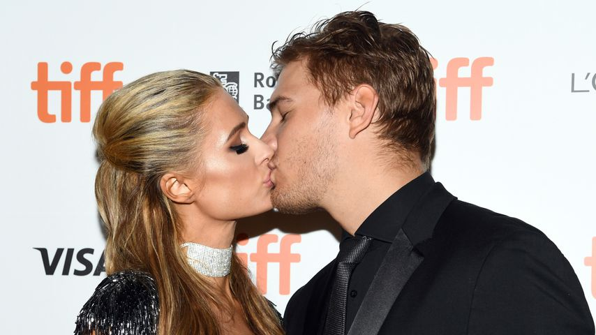 Paris Hilton und Chris Zylka im September 2018