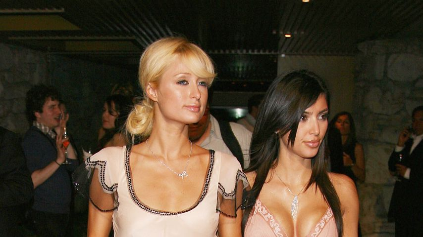 Paris Hilton und Kim Kardashian in Beverly Hills, 2006