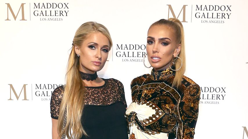 Paris Hilton und Petra Ecclestone