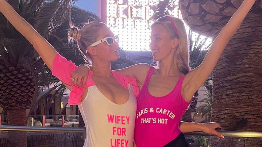 Paris Hilton und Tessa Hilton im Oktober 2021