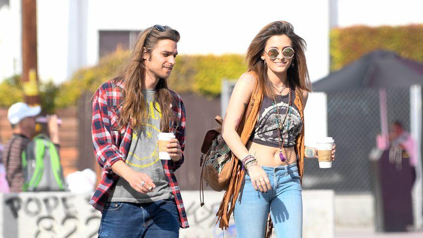 Paris Jackson mit ihrem Freund Gabriel Glenn