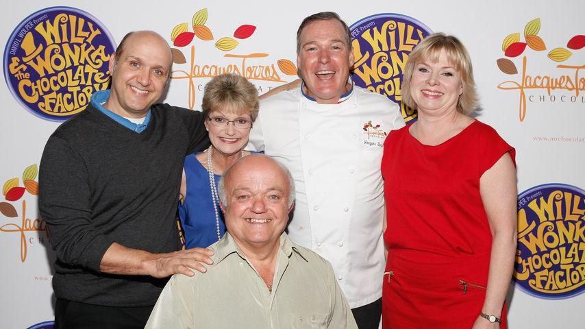 Paris Themmen, Denise Nickerson, Jacques Torres, Julie Cole und Rusty Goffe im Oktober 2011 in New Y