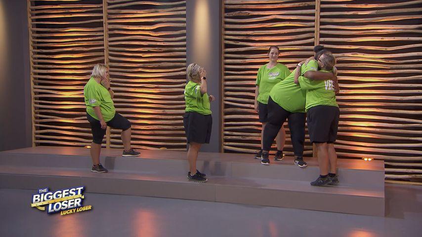 "Pati, Baksi, Carina, Cindy und Verena bei ""Lucky Loser"""