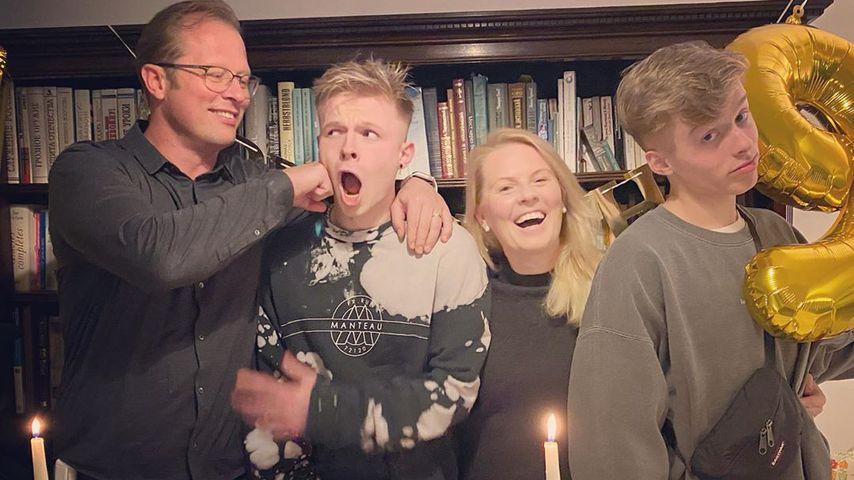 Patricia Kelly und Familie beim Geburtstag ihres Sohnes Alexander