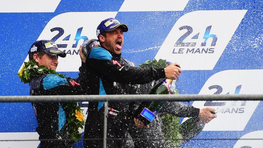 Freudentaumel! Patrick Dempsey feiert Erfolg als Rennfahrer