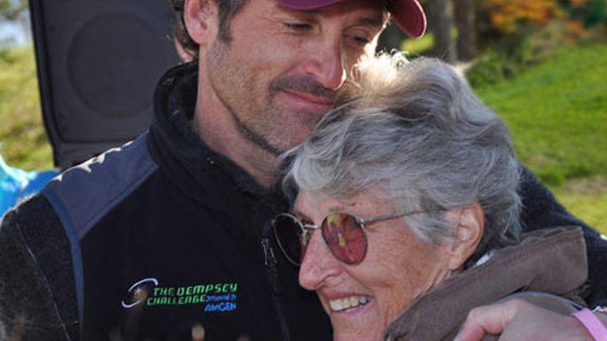 Patrick Dempsey: 1. Krebslauf nach Tod der Mutter