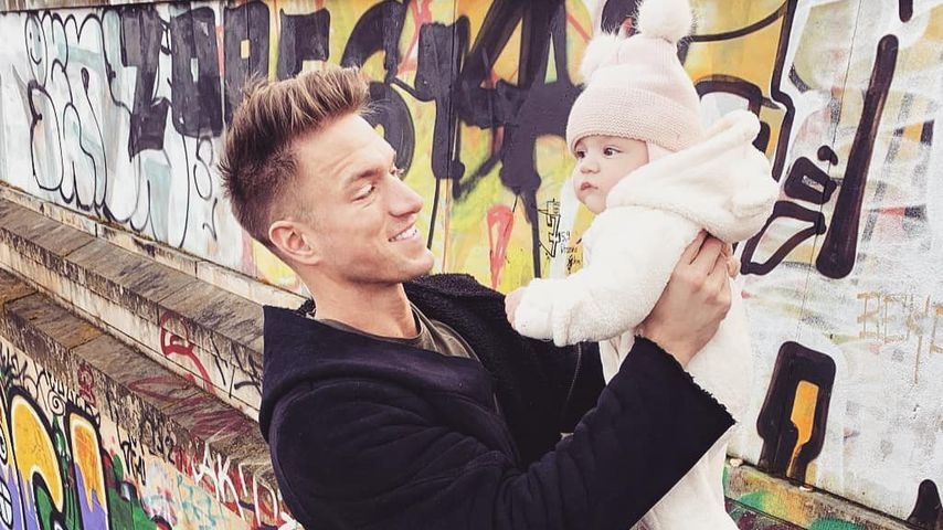 Baby statt Party: So war Patrick Fabians erster Vatertag