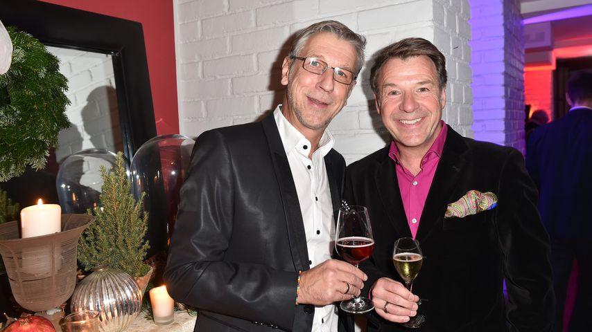 Patrick Lindner und Peter Schäfer in München