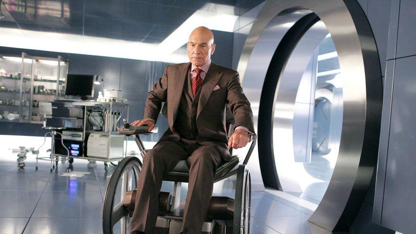"Patrick Stewart als Professor X in ""X-Men: The Last Stand"""