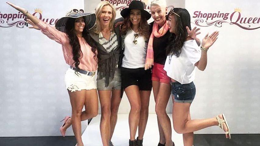 """Patrizia (l.) und die Kandidatinnen von """"Shopping Queen"""""""