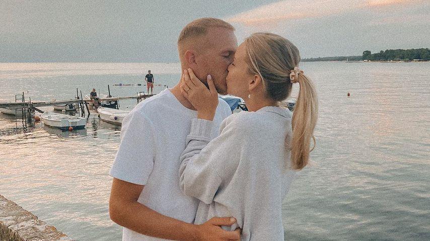 Patrizia Palme mit ihrem Mann Dennis