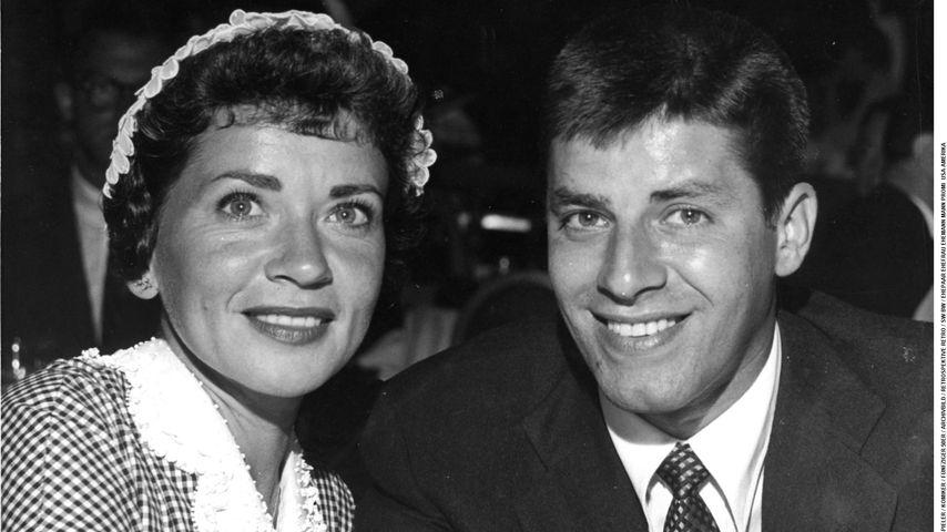 Patti Palmer und Jerry Lewis, US-Stars