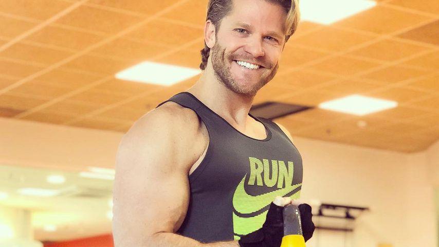 Paul Janke im Fitness-Studio