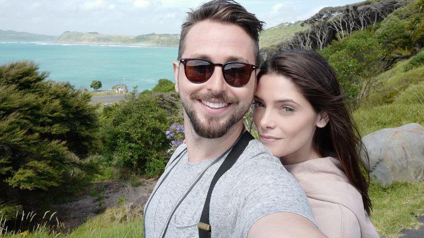 Paul Khoury und Ashley Greene in Neuseeland