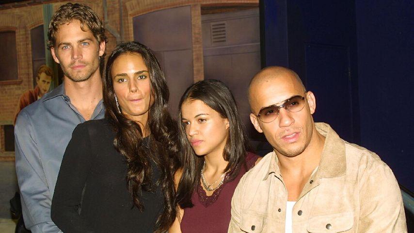 Vin Diesel, Michelle Rodriguez und Paul Walker