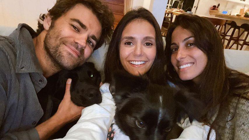 "Hunde-Date: ""Vampire Diaries""-Nina und Paul feiern Reunion"