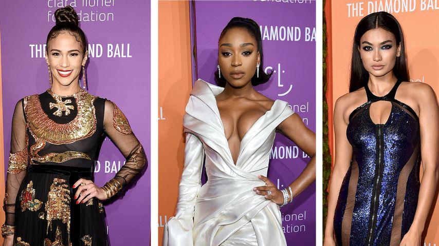 Sexy Roben und Nippelalarm: Das waren die Diamond-Ball-Looks