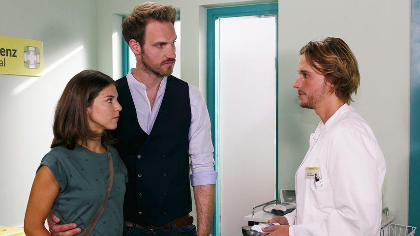 Pauline (Maike Johanna Reuter), Damian (Christian Feist), Finn (Christopher Kohn)