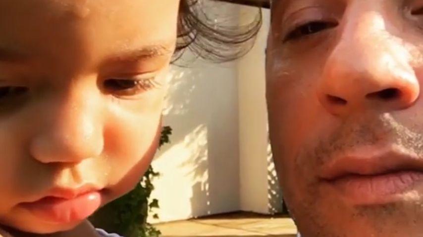 Vin Diesel mit Töchterchen Pauline