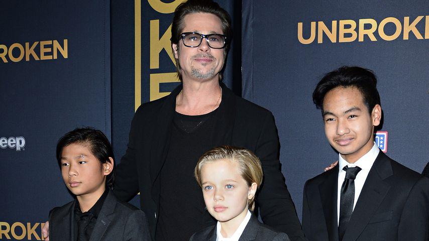 Seltenes Interview: So stolz ist Brad Pitt auf seine Kids