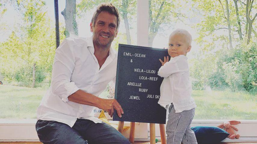 Peer Kusmagk und Sohn Emil-Ocean