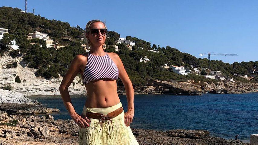 Peggy Jerofke im Juli 2019 auf Mallorca