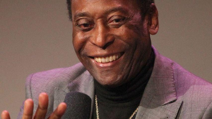 Aufatmen! Pelé ist auf dem Weg der Besserung