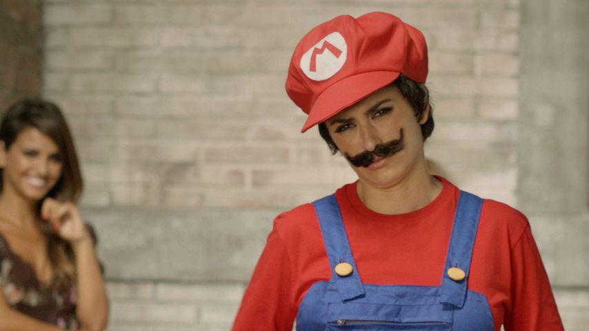 Witzig! Penelope Cruz wird zu Super Mario