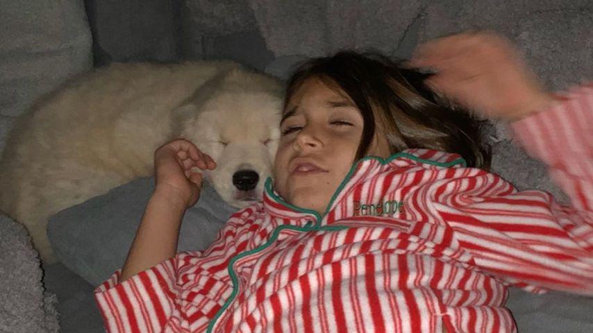 Penelope Scotland Disick an Weihnachten 2019