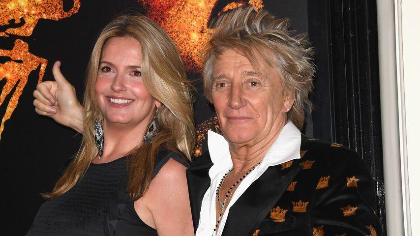 Penny Lancaster und Rod Stewart
