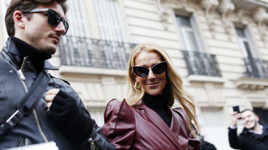 Pepe Munoz und Céline Dion bei der Fashion Week in Paris