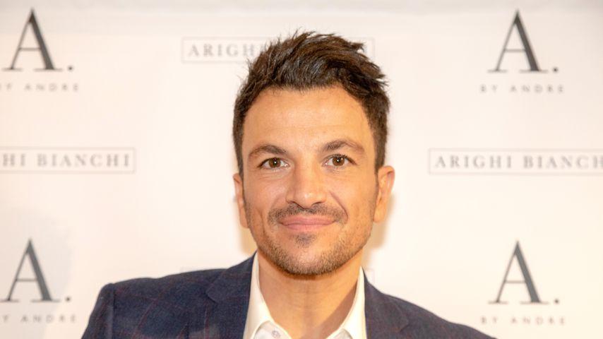 Peter Andre im Arighi Bianchi Store im März 2019