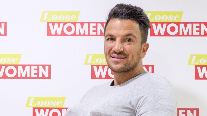 Peter Andre im Oktober 2016 als Gast in einer Fernsehshow in London