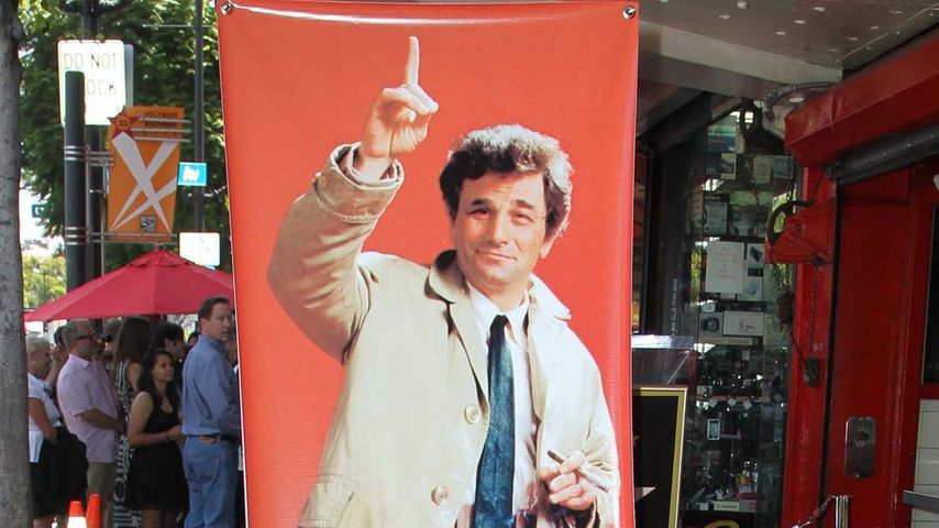 "Posthum: ""Columbo"" Peter Falk auf dem Walk of Fame"